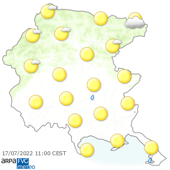 Meteo Friuli Venezia Giulia